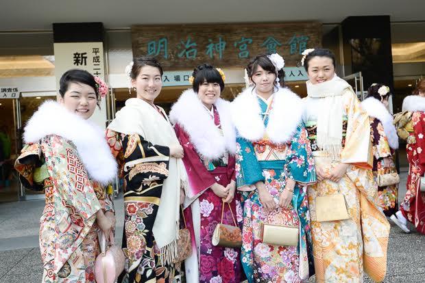 2016年 渋谷の成人式はどうだった? 美しい振袖姿の新成人を激写