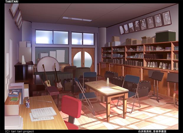 『TARI TARI』白浜坂高校 音楽準備室