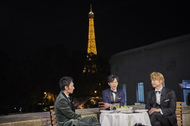 草なぎ剛さん、稲垣吾郎さん、香取慎吾さんによる「ななにーホンネトークinパリ」