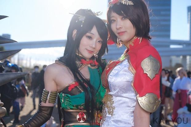 左から아자_Miyukoさん、ジユルさん1