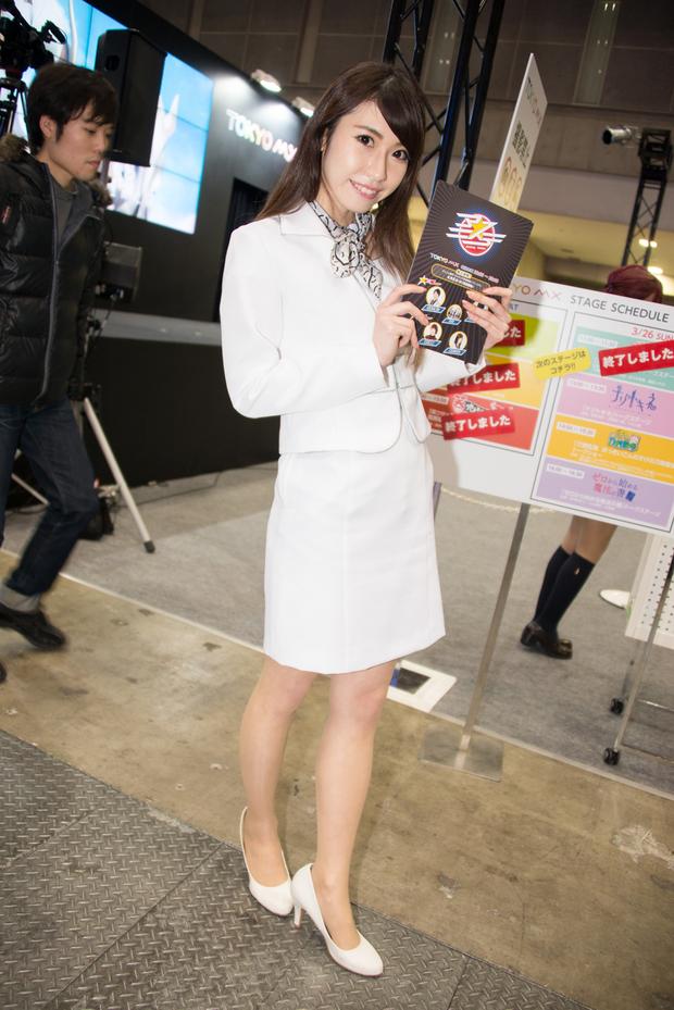 TOKYO MXのコンパニオンさんのコスプレ画像2