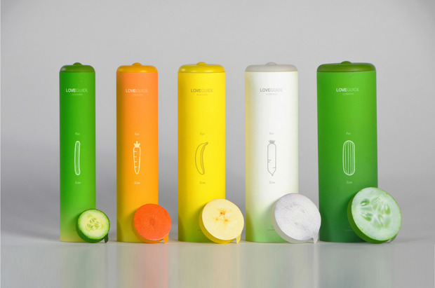 Love Guide Condoms 食色,性也 on Behance