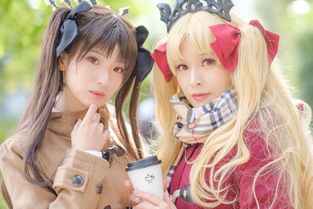 立花はるさん&塔谷晃さん/Fate/Grand Order イシュタル&エレシュキガル ローソンコラボあわせ