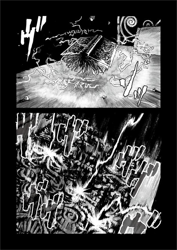 長編漫画「BIBLIOMANIA」第9話「宴」12P