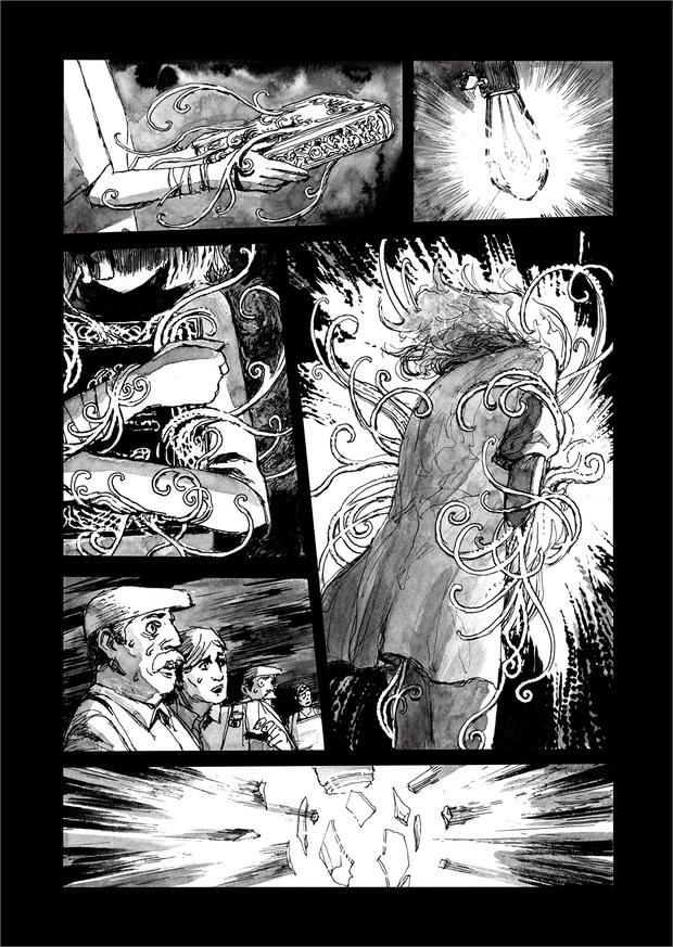 長編漫画「BIBLIOMANIA」連載 第10話「追憶」20P