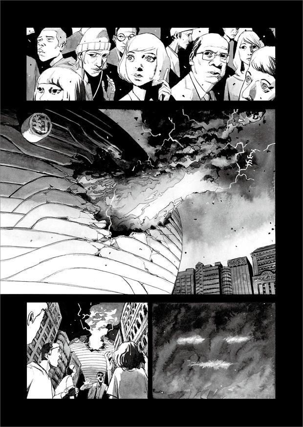 長編漫画「BIBLIOMANIA」連載 第11話「大戦」7P