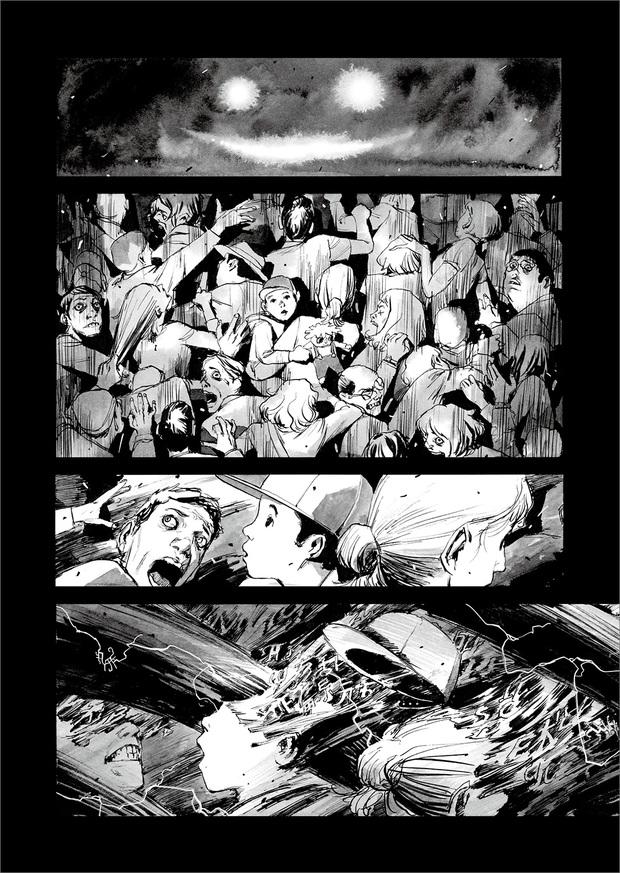 長編漫画「BIBLIOMANIA」連載 第11話「大戦」8P
