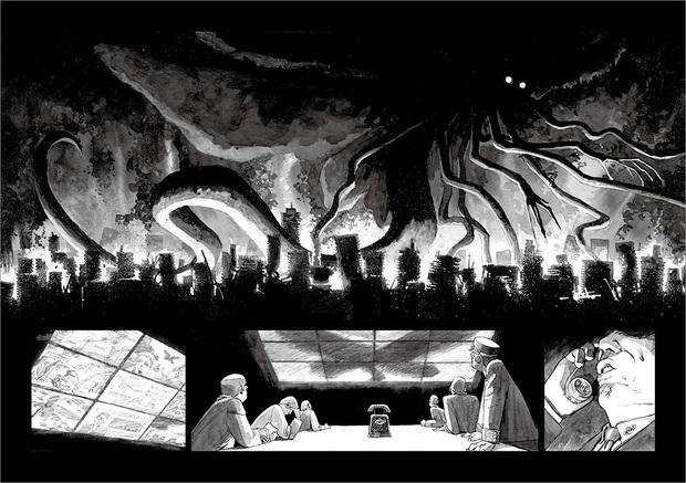 長編漫画「BIBLIOMANIA」連載 第11話「大戦」11-12P