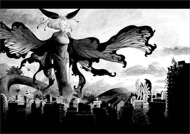 長編漫画「BIBLIOMANIA」連載 第11話「大戦」29P-30P