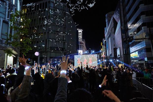 西武渋谷店前エリア