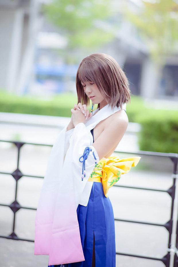 TGS_コスプレ_猫塚みあんさん(『ファイナルファンタジー』ユウナ)3