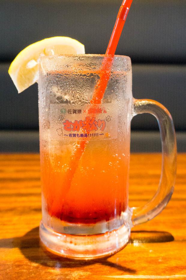 さが松り居酒屋 おそ松のトマト酢ソーダ