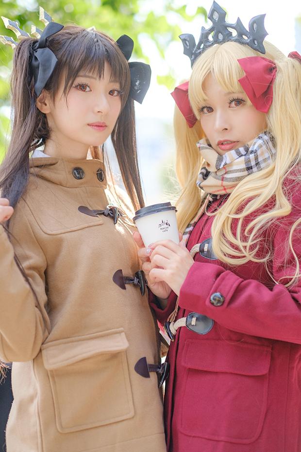 立花はるさん&塔谷晃/Fate/Grand Order イシュタル&エレシュキガル ローソンコラボあわせ