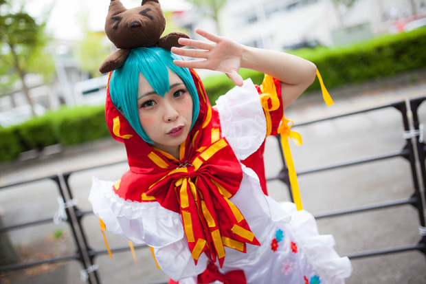 ななせさん/「TGS2016」 Photo by Diora
