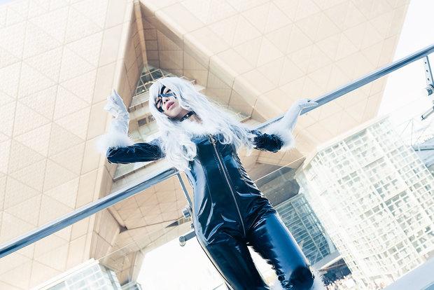 コミケC91コスプレ_小鞠こまち(『スパイダーマン』ブラックキャット)17