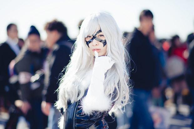 コミケC91コスプレ_小鞠こまち(『スパイダーマン』ブラックキャット)16