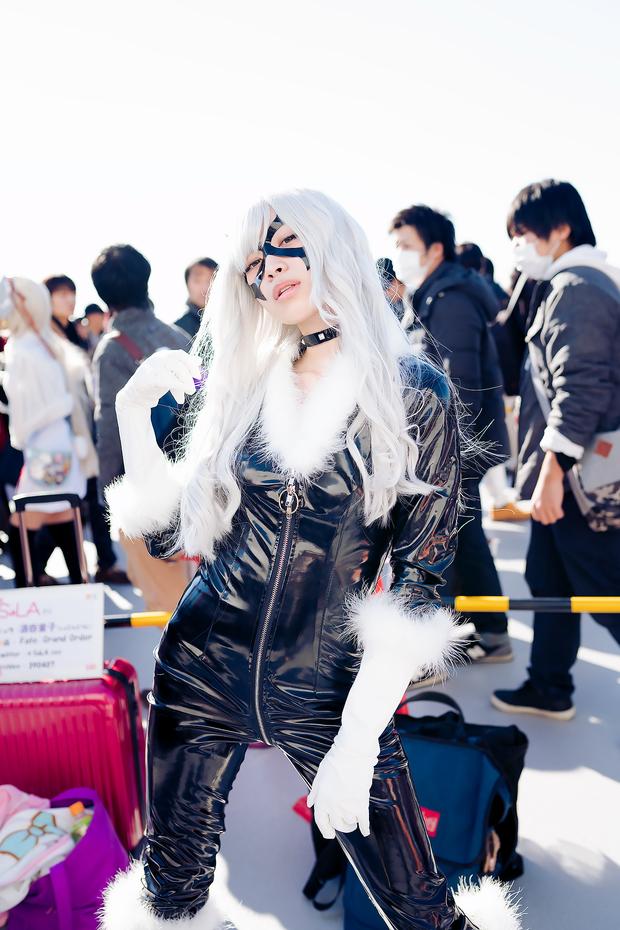 コミケC91コスプレ_小鞠こまち(『スパイダーマン』ブラックキャット)13