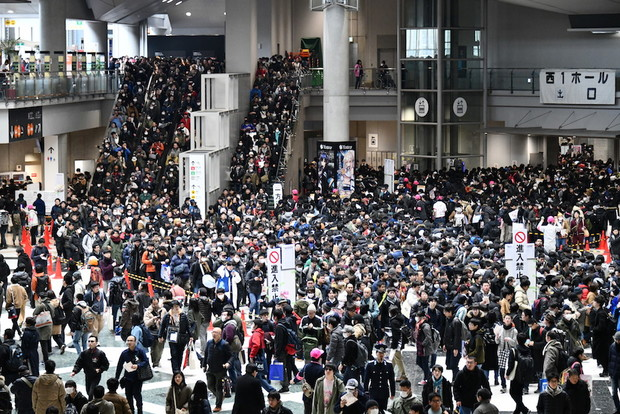 活況を呈した平成最後のコミケ/撮影:コミックマーケット準備会