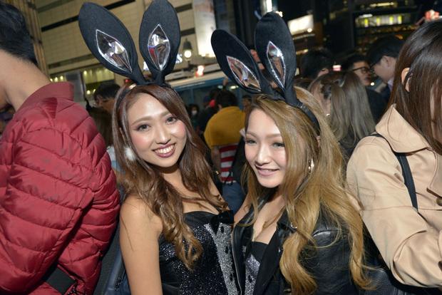 渋谷ハロウィン2017ギャル!_DSC0300