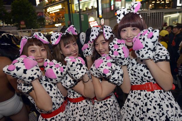 渋谷ハロウィン2017ギャル!_DSC0310