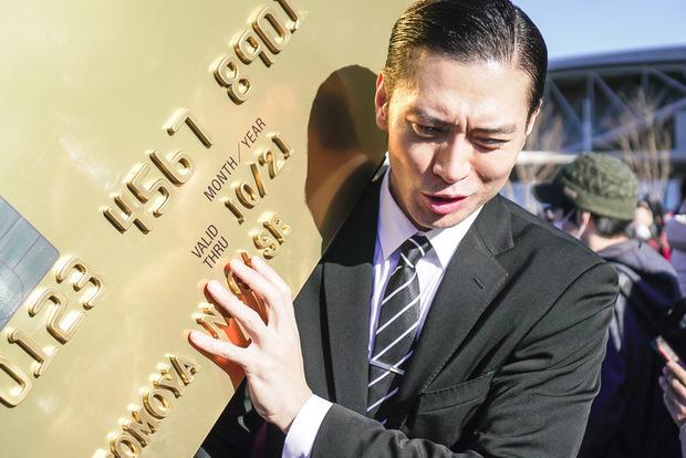 オリコカードCMの長瀬智也さんのコスプレ