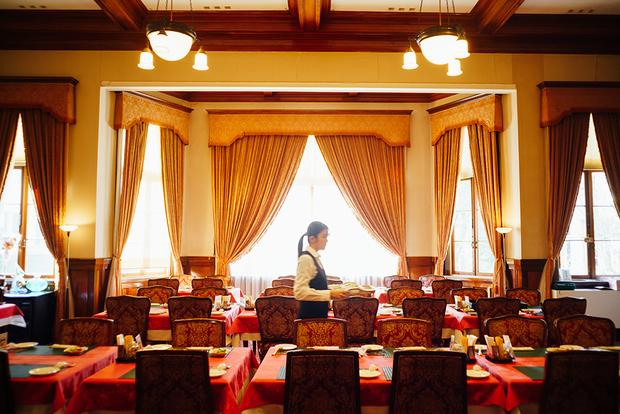 「旧門司三井倶楽部」はかつてアインシュタインも宿泊。現在、国の重要文化財に