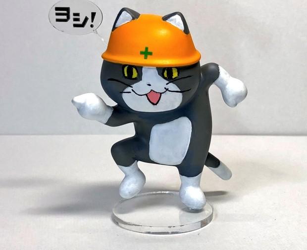 現場猫フィギュア