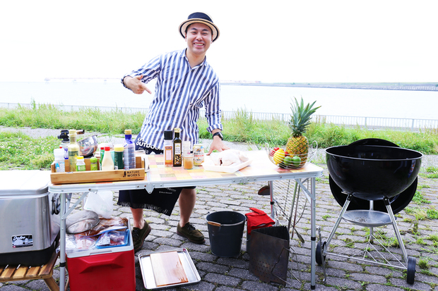 BBQのプロこと秋元さん