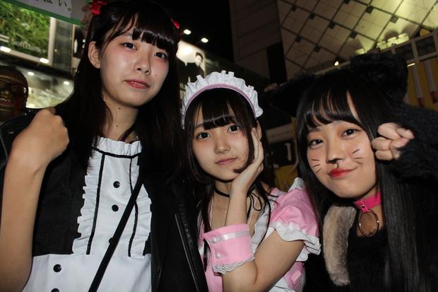 【写真】JKとJDで溢れる渋谷ハロウィン当日!  非日常を求める10代たち