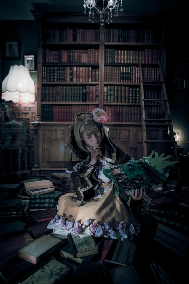 本を読む「シノアリス」いばら姫