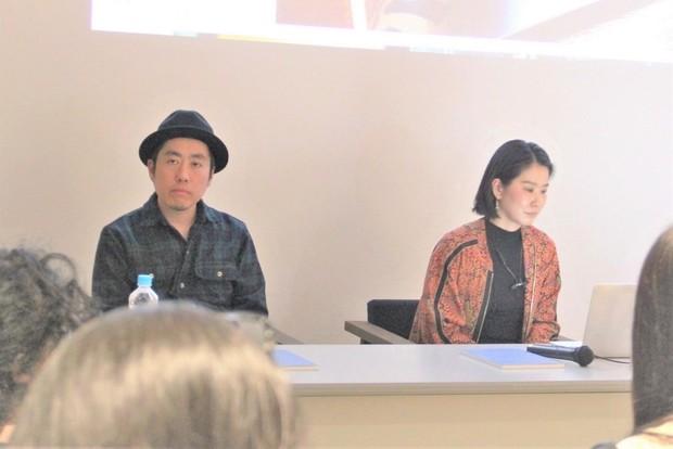 磯部涼さんと細倉真弓さん