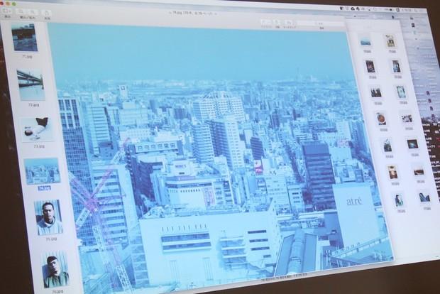 写真とテキストとで異なる川崎南部の描き方