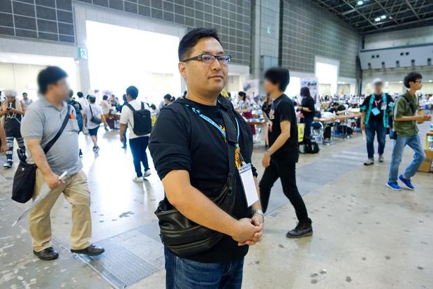 コミックマーケット準備会共同代表のひとり、市川孝一さん