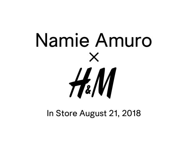 Namie Amuro × H&M