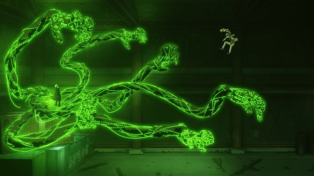 『メカウデ-mechanical arms-』PVのワンシーン