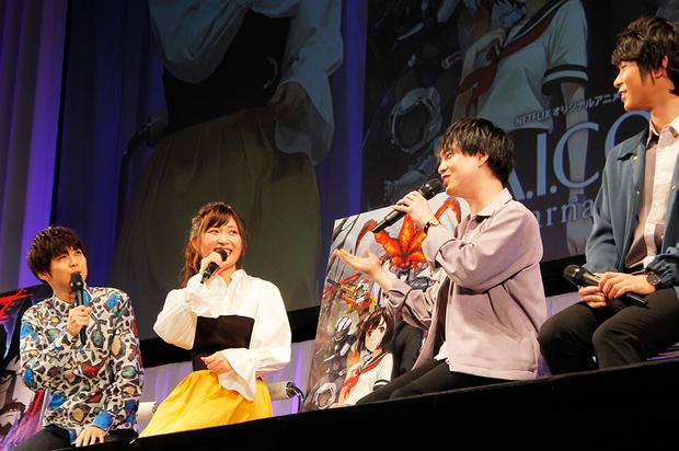 (左)白石晴香さん(右)小林裕介さん