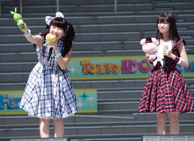 (左から)五十嵐夢羽さん、宇野友恵さん