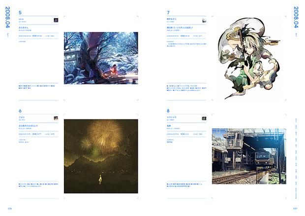 pixiv10周年本『pixiv archive 2007-2017』36-37P