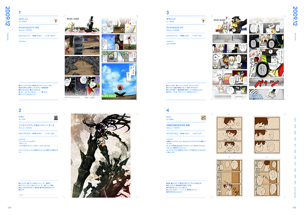 pixiv10周年本『pixiv archive 2007-2017』124-125P