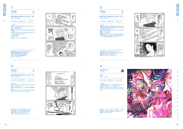 pixiv10周年本『pixiv archive 2007-2017』248-249P
