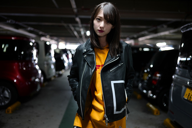 モデル:能見真優華(にょみ。) 撮影:石川涼、#FR2