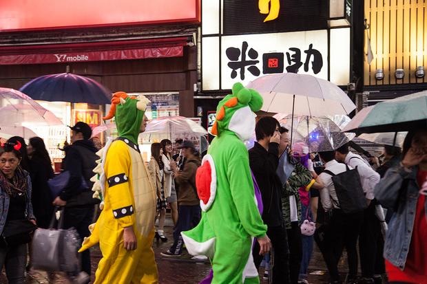 渋谷のハロウィン