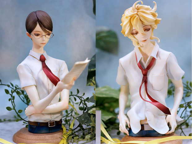 石長櫻子氏による中村明日美子『同級生』の胸像