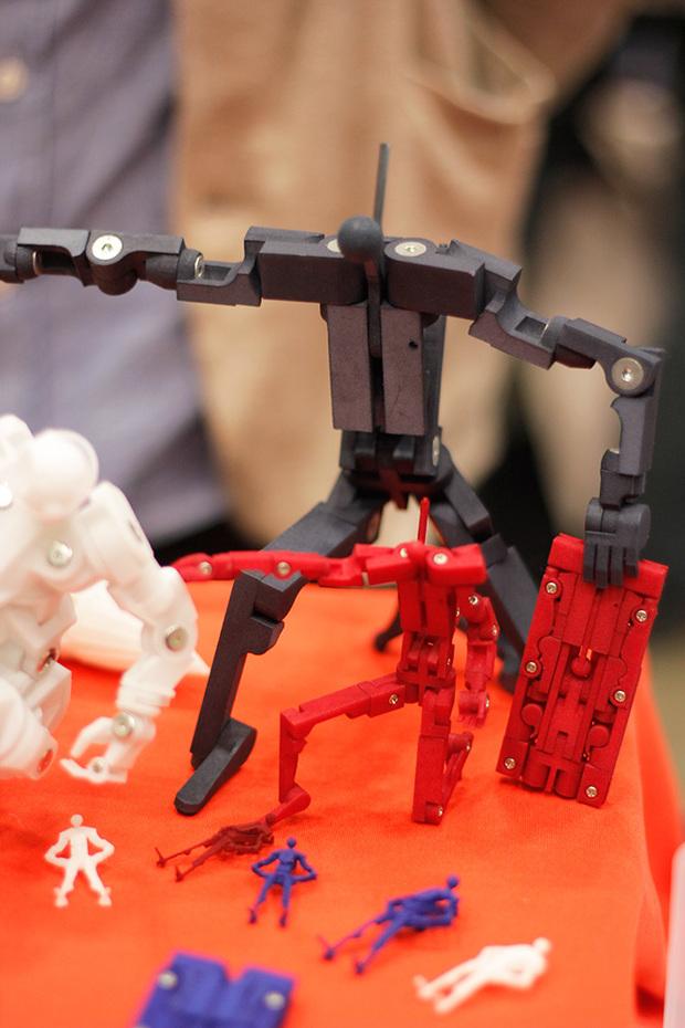 変形ロボット「フユク」