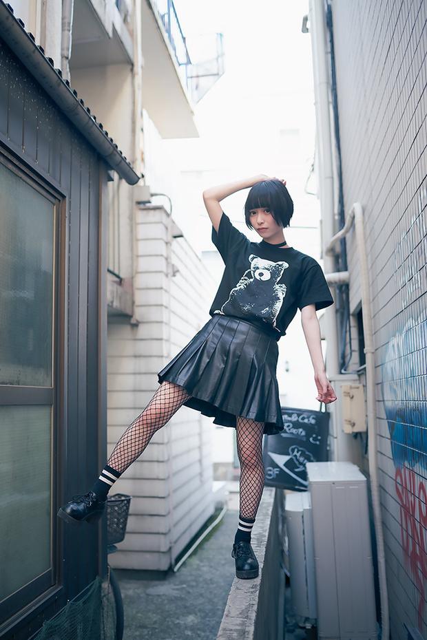 つぶらさん私服 撮影:Diora