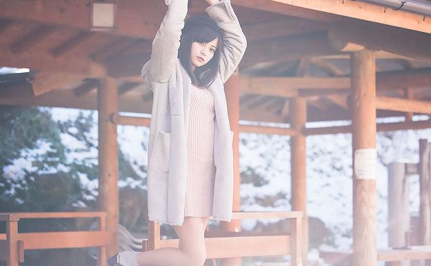 現役ナース「桃月なしこ」 さん温泉旅写真
