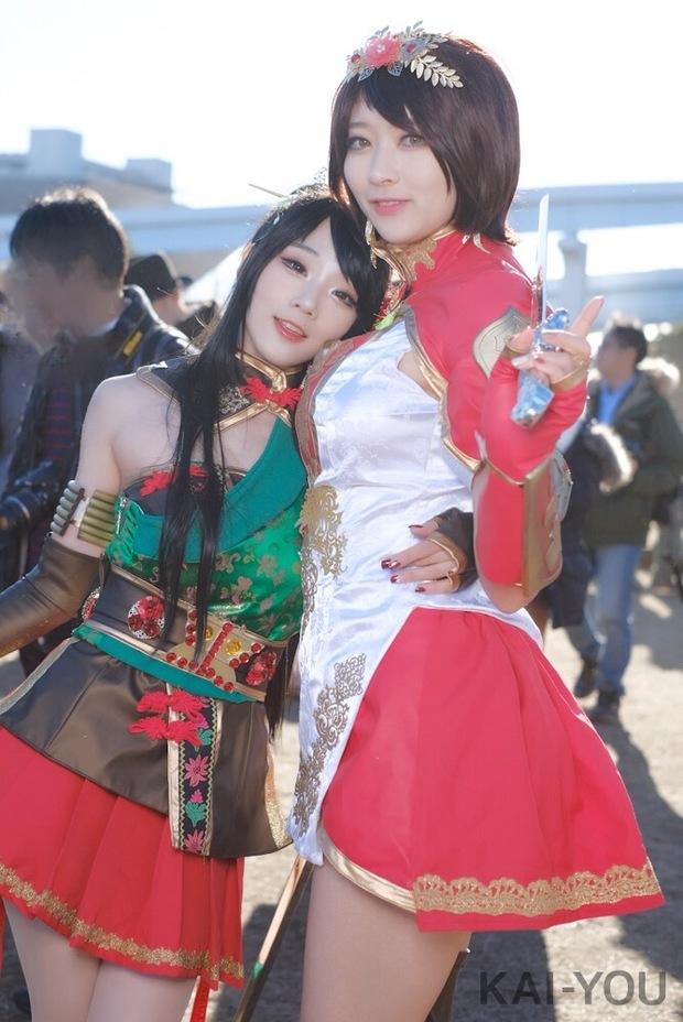 左から아자_Miyukoさん、ジユルさん2