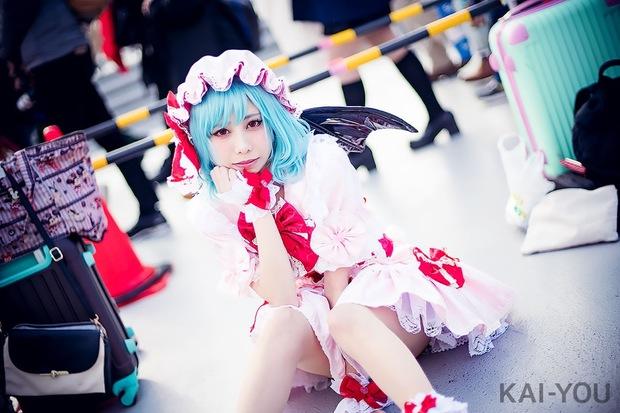 ひのきおさん/『東方Project』レミリア・スカーレット_3