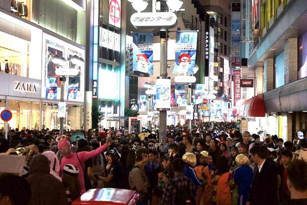 渋谷ハロウィン2018当日