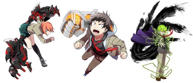 『メカウデ-mechanical arms-』に登場するキャラクター